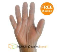100 Pcs Food Service Powder Free Medium Vinal Gloves (Non Latex Nitrile Vinyl)