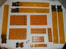 Vintage CARDINAL Chinese Bakelite Mah Jong Set with 154 tiles plus bank, Mahjong