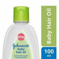 Johnson's Baby Hair Oil 100ml (3.3 Oz) For Hair Growth Soft & Silky Touch