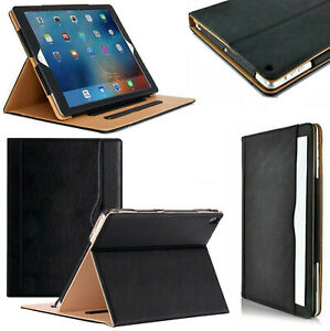 iPad Leather Case Flip Stand Executive Cover For iPad 10.2 8th, 7th Gen 2020 Air