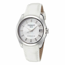 Tissot Women'S T0352071611600 Couturier 32 мм белый швабра циферблат часы кожа