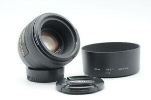 Nikon Nikkor AF-S 50mm f1.4 G Lens AFS #502