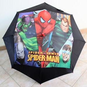 Ombrello  Spider Man Originale Perletti Bimbo Bimba Automatico
