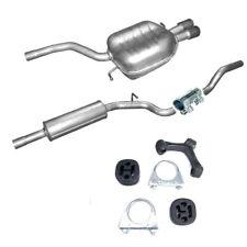 Mitteltopf Endtopf Auspuff + Anbausatz für VW Passat 2.0 TDi Turbo Diesel