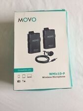 Movo WMIC Sistema de Micrófono Lavalier 50 2.4GHz Inalámbrico para Cámara del intervalo ~ 164/'