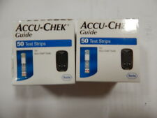 100 Accu Chek Guide Diabetic Glucose Test Strips Sealed 7/2019 Sealed