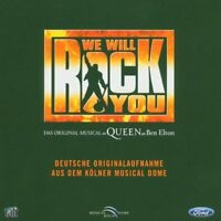 We will rock you-Orig. Musical von Queen und Ben Elton Deutsche Originala.. [CD]