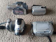 Vrac lot SONY HANDY CAM Panasonic VDR M50 Minolta Dimage Z3-ONU-Testé