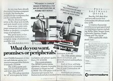 "Commodore 64 VIC 20 ""Vintage Hardware"" 1983 Magazine Double Page Advert #5117"