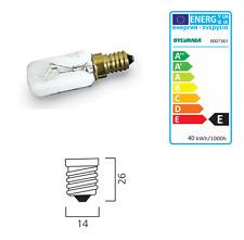 Sylvania 0007361 LAMPADA TUBOLARE  E14  40W 26X85 230V CL BL2 - tubular CF 2PZ