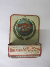 VINTAGE ADVERTISING UNIVERSAL STOVES METAL WALL MATCH SAFE  15-T