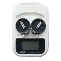 ML2016 /ML2025 /ML2032 3.6V 2 -Ablagefach LCD Ladegerät für Knöpfe EU Modul