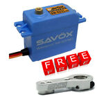 Savox SW-0231MG Waterproof High Torque STD Metal Gear Servo w/Free Silver Horn