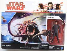 Star Wars The Last Jedi Rathtar and Bala-Tik Figure 2017 MISB Hasbro