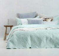 Botanica Embossed Quilted Coverlet Set By Bambury | Bedcover | Fit Queen Or King
