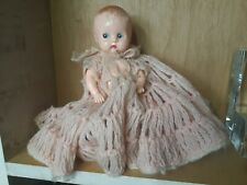"""Vintage Ideal Plastic Baby Doll 8"""""""