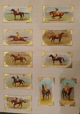 "28 x ""Wills"" Cigarettes Horse Racing Cards • 1906"