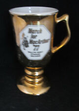 Hall March For MacArthur 1977 Irish Coffee Cup #1273