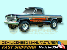 1979 1980 Jeep Honcho J10 Townside Truck Decals & Stripes Kit
