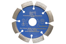Crack Chaser Concrete Repair Diamond Blade. Clean Chasing Out Cracks. 115mm