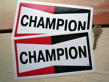CHAMPION SPARK PLUGS MED. CLASSIC RACING DECALS F1 WSB