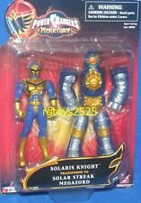 "Power Rangers Mystic Force Solaris Knight 4"" Transforms Solar Streak Megazord"