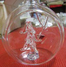 Décoration de sapin en verre boule et sapin  (NO47)