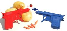 Retro Metal Die Cast Potato Spud Gun Water Pistol Toy Gun Dressing Costume