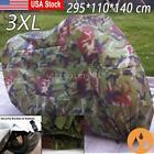 XXXL Camouflage Waterproof Motorcycle Cover For Suzuki Intruder 1500 Vstrom 650