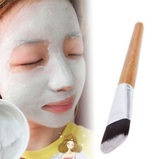 Unisex Bamboo DIY Beauty Makeup Skin Care Treatment Tool Facial Face Mask Brush.
