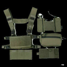 TMC3115-RG Hunting Tactical Airsoft Vest Modular Chest Rig Set Green