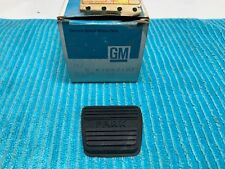 "GM 3893181 1964-83 Parking Brake Pedal Pad Cover ""NOS"""
