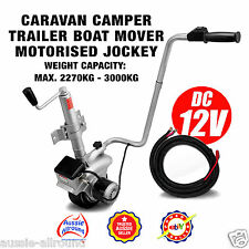 12v Motorised Electric Jockey Wheel Mover Caravan Trailer Boat Parts Accessories