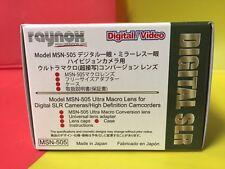 Raynox 52mm 55mm 58mm 62mm 67mm MSN-505 UAC3500 ULTRA Macro Close-Up lens