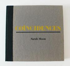 Sarah Moon Coincidences - 2001 _ Amazing like New Copy!