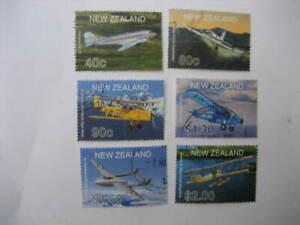 Neuseeland Gebraucht SET-2001 Flugzeug Sg 2408/13