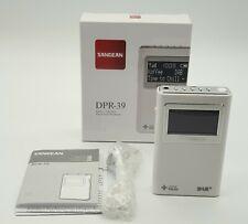 Sangean DPR-39 DAB+/FM Pocket Radio White -cgl3030
