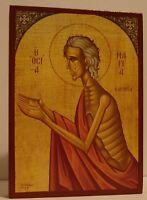 Heilige Maria von Ägypten Ikone Icon Icona Icone Icono икона Holy Mary of Egypt