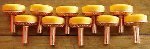 10 Piece Tap Washer Kit Delaware Soft Turn Domed Jumper Valves