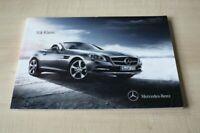 206339) Mercedes SLK R172 Prospekt 10/2010
