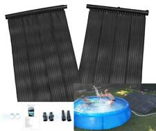 Pannello solare piscina acqua calda per riscaldamento libero risparmio energetico Sun Heater kit4sq