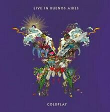 Coldplay Live in Buenos Aires CD SEALED 24 Track Double CD LIVE