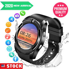 Bluetooth Smart Watch with Camera Unlocked for Samsung S10 S8 A10 A20s Motorola