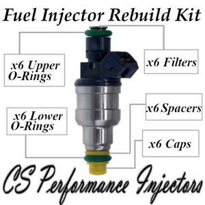 Fuel Injectors Rebuild Kit fits 0280150957 for 92-96 Chrysler Dodge 3.8 3.9 V6