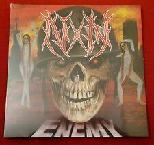 Noyz Narcos Enemy LP Vinile arancione  Trasparente Autografato Edizione Limitata