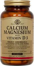 Solgar Calcium Magnesium with Vitamin D3 150 Tablets