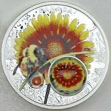 2017 $20 Mother Nature's Magnification: Beauty Under the Sun, 1 oz Pure Silver