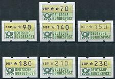 Bund ATM 1.1 postfrisch BRD Automatenmarken 2,30  2,10 1,80  1,50  1,40  0,90..
