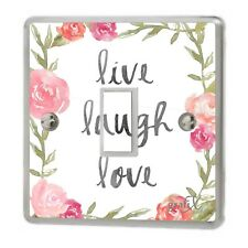 Live Laugh Love Light Switch Sticker Vinyl/Graphics/Decal/Skin Cover sw38