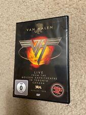 VAN HALEN (DVD) LIVE from MOLSON AMPHITHEATRE TORONTO 1995 Concert RARE! canada
